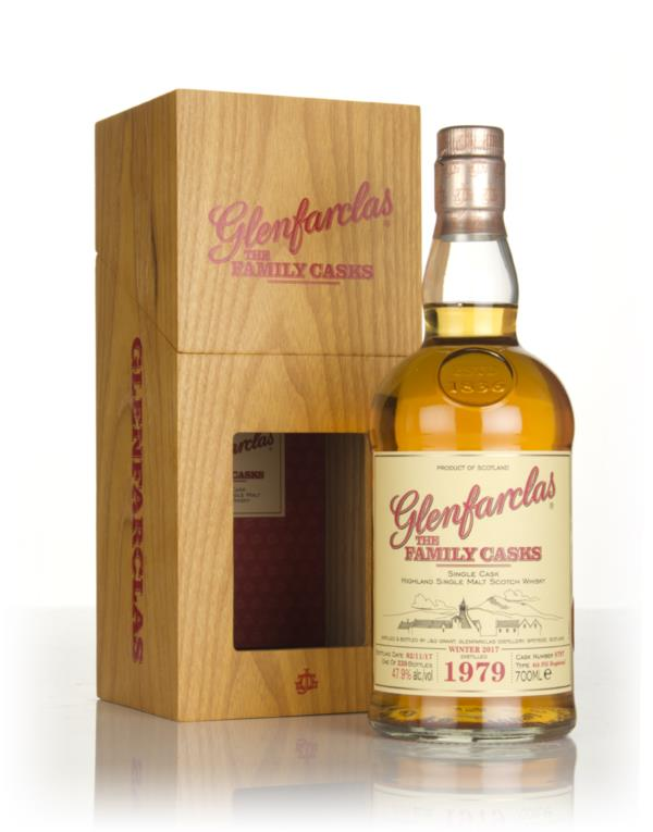 Glenfarclas 1979 (cask 8797) Family Cask Winter 2017 Release Single Malt Whisky