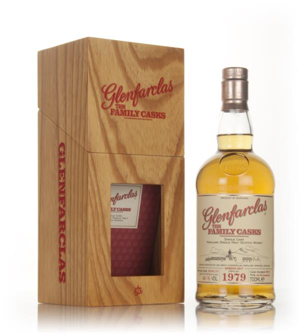 Glenfarclas 1979 (cask 8817) Family Cask Spring 2017 Release Single Malt Whisky