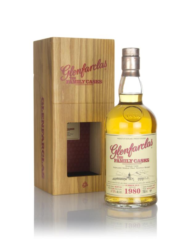 Glenfarclas 1980 (cask 1413) Family Cask Summer 2018 Release Single Malt Whisky