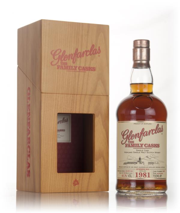 Glenfarclas 1981 (cask 1607) Family Cask Summer 2016 Release Single Malt Whisky