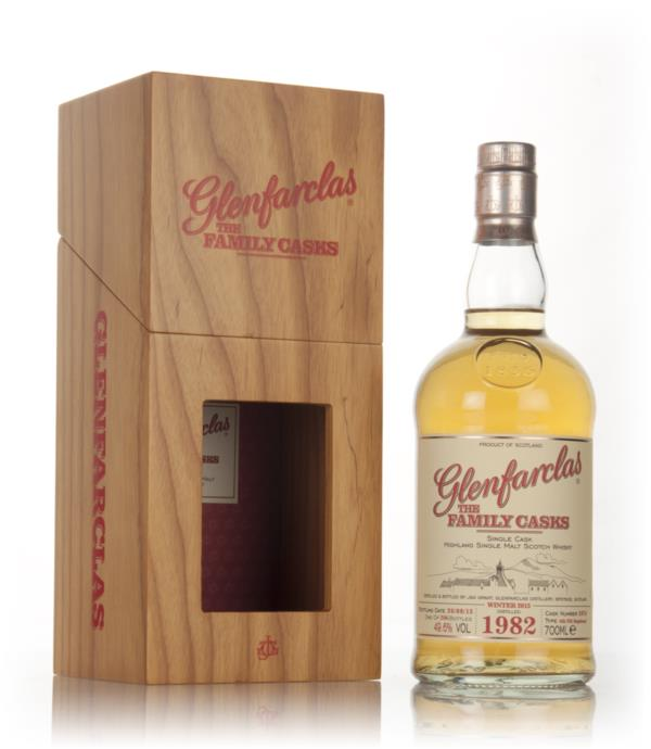 Glenfarclas 1982 (cask 2074) Family Cask Winter 2015 Release Single Malt Whisky
