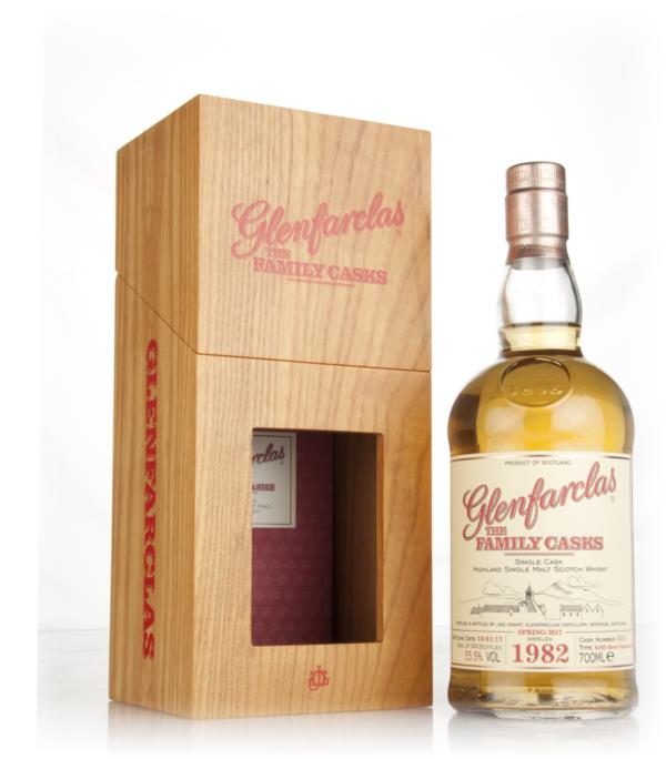 Glenfarclas 1982 (cask 2215) Family Cask Spring 2017 Release Single Malt Whisky