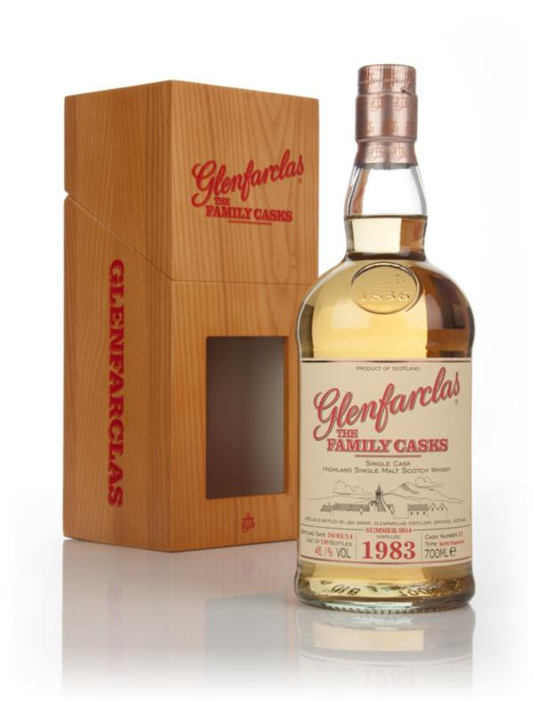 Glenfarclas 1983 (cask 31) Family Cask Summer 2014 Release Single Malt Whisky