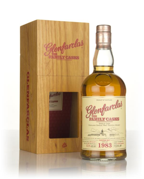 Glenfarclas 1983 (cask 38) Family Cask Winter 2017 Release Single Malt Whisky