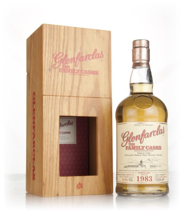 Glenfarclas 1983 (cask 45) Family Cask Spring 2017 Release Single Malt Whisky