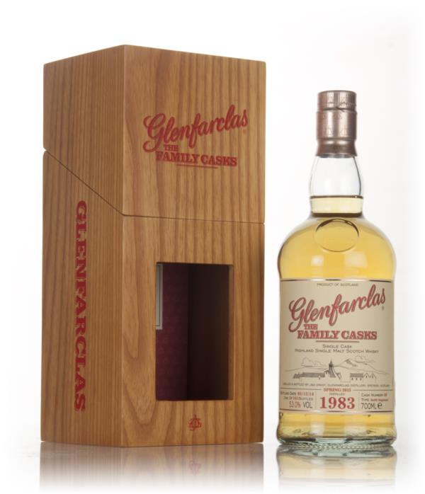 Glenfarclas 1983 (cask 49) Family Cask Spring 2015 Release Single Malt Whisky
