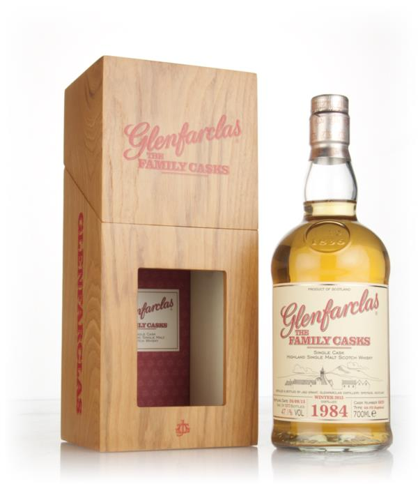 Glenfarclas 1984 (cask 6029) Family Cask Winter 2015 Release Single Malt Whisky