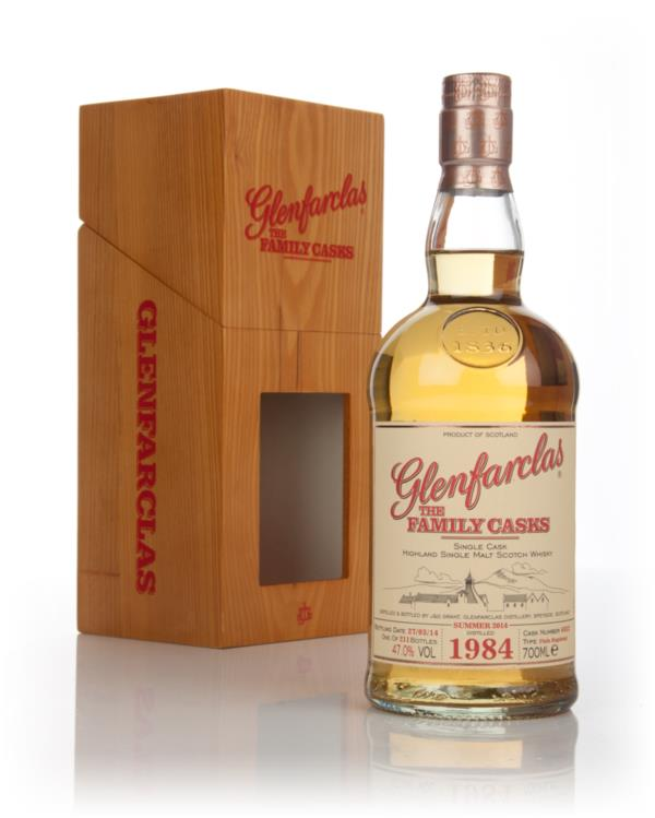 Glenfarclas 1984 (cask 6032) Family Cask Summer 2014 Release Single Malt Whisky