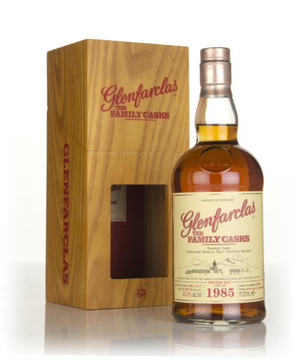 Glenfarclas 1985 (cask 2594) Family Cask Winter 2017 Release Single Malt Whisky