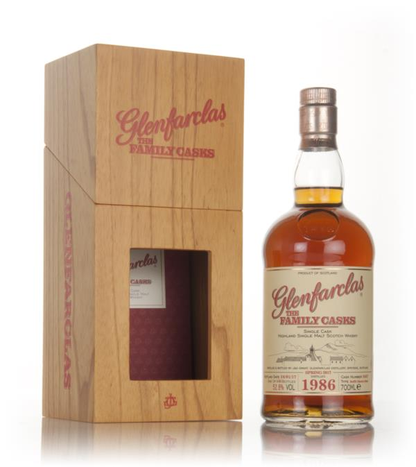 Glenfarclas 1986 (cask 3447) Family Cask Spring 2017 Release Single Malt Whisky