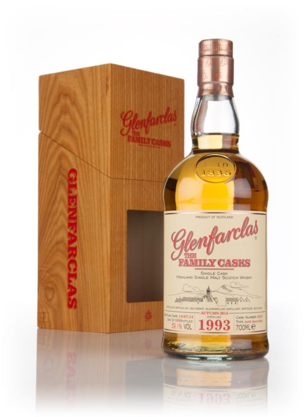 Glenfarclas 1993 (cask 1614) Family Cask  Autumn 2014 Release Single Malt Whisky