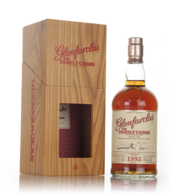 Glenfarclas 1995 (cask 6640) Family Cask Winter 2015 Release Single Malt Whisky
