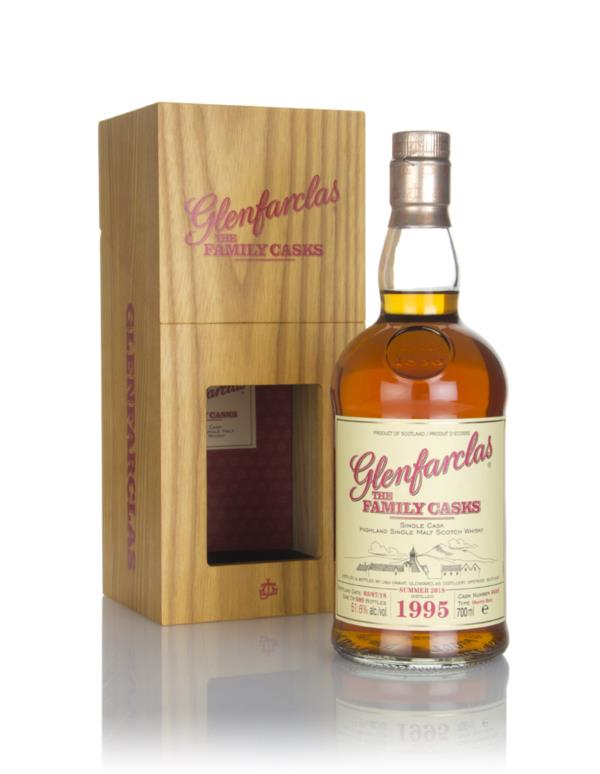Glenfarclas 1995 (cask 6649) Family Cask Summer 2018 Release Single Malt Whisky