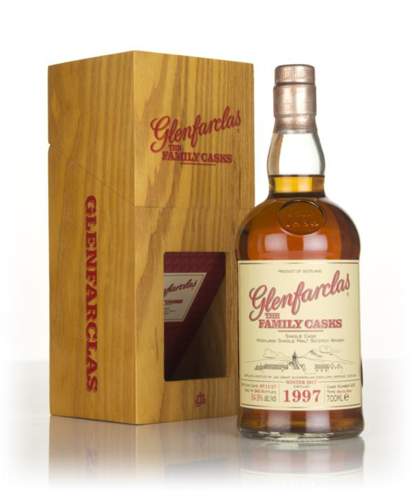 Glenfarclas 1997 (cask 453) Family Cask Winter 2017 Release 3cl Sample Single Malt Whisky