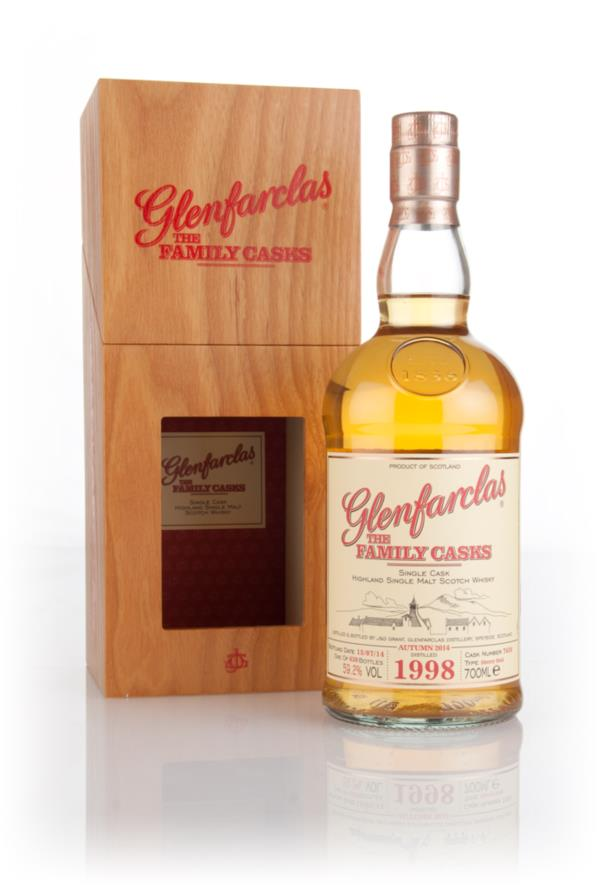Glenfarclas 1998 (cask 7636) Family Cask Autumn 2014 Release Single Malt Whisky