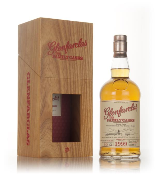 Glenfarclas 1999 (cask 6322) Family Cask Spring 2017 Release Single Malt Whisky