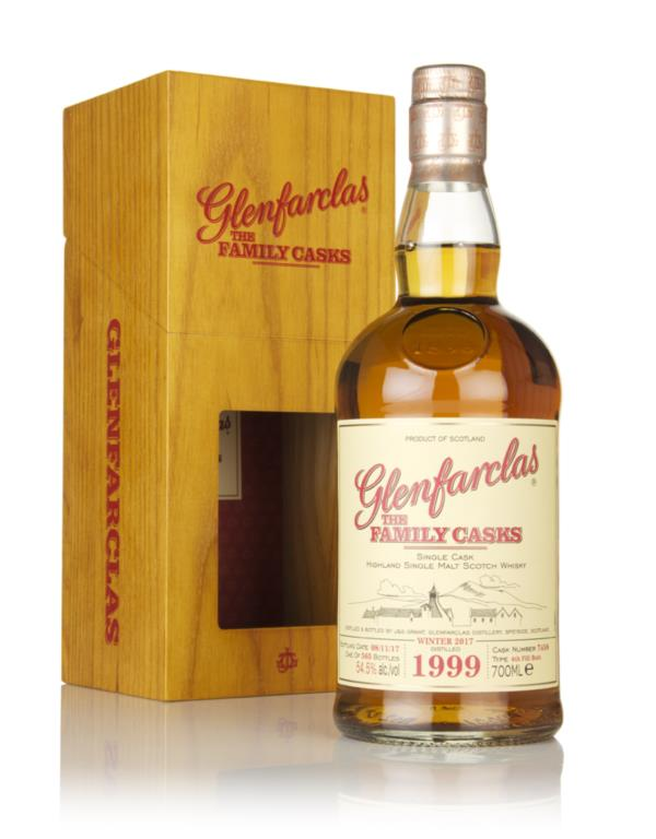 Glenfarclas 1999 (cask 7458) Family Cask Winter 2017 Release 3cl Sampl Single Malt Whisky 3cl Sample