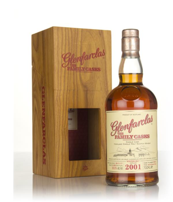 Glenfarclas 2001 (cask 3352) Family Cask Winter 2017 Release 3cl Sampl Single Malt Whisky 3cl Sample