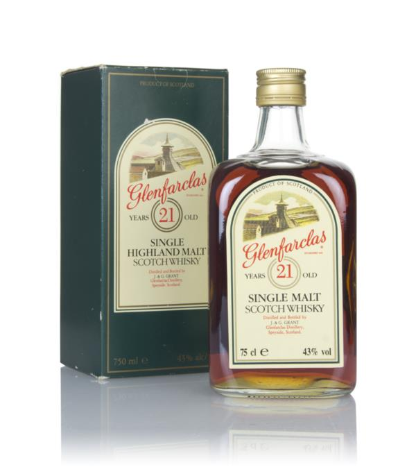 Glenfarclas 21 Year Old (Green Box) - 1980s Single Malt Whisky
