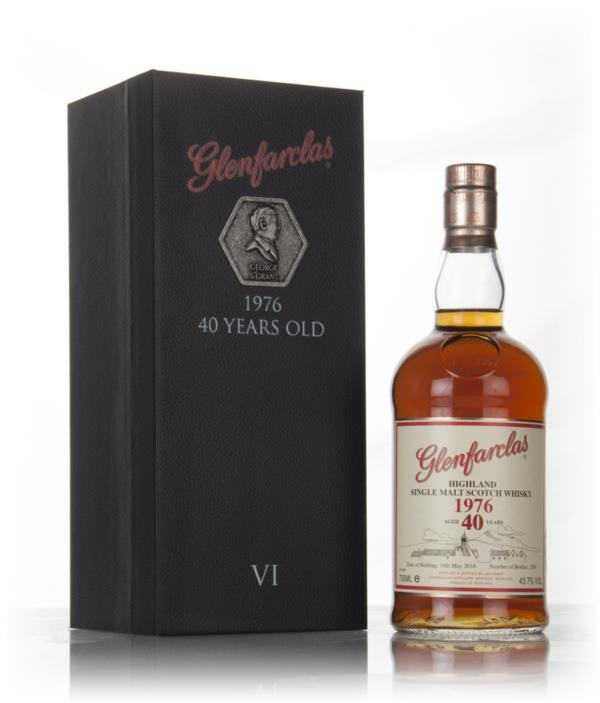 Glenfarclas 40 Year Old 1976 - Family Collector Series VI Single Malt Whisky