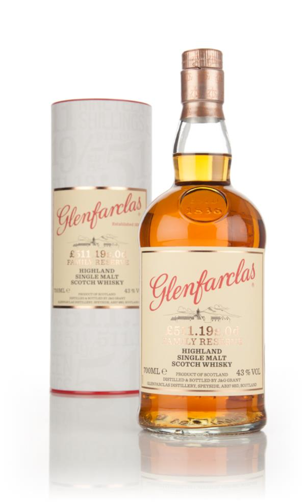 Glenfarclas �511.19s.0d Family Reserve Single Malt Whisky