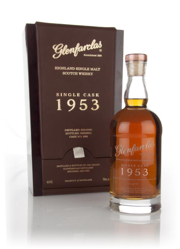 Glenfarclas 58 Year Old 1953 (cask 1682) 3cl Sample Single Malt Whisky