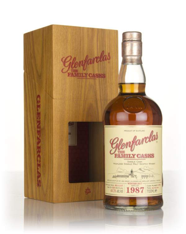 Glenfarclas 1987 (cask 1494) Family Cask Winter 2017 Release Single Malt Whisky