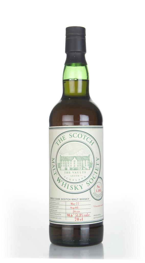 SMWS 1.105 26 Year Old 1977 Single Malt Whisky