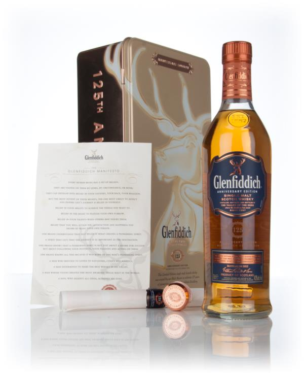 Glenfiddich 125th Anniversary Edition 3cl Sample Single Malt Whisky