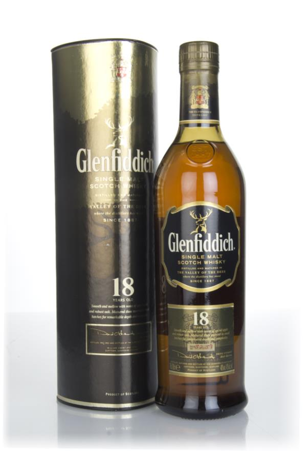 Glenfiddich 18 Year Old (Old Bottling) Single Malt Whisky