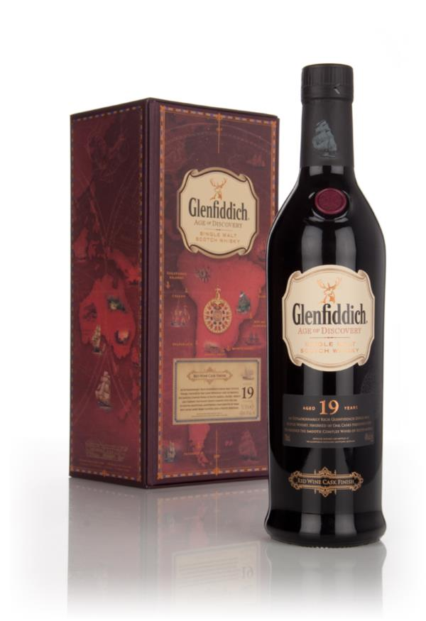 Glenfiddich 19 Year Old - Age of Discovery Red Wine Cask Finish 3cl Sa Single Malt Whisky 3cl Sample