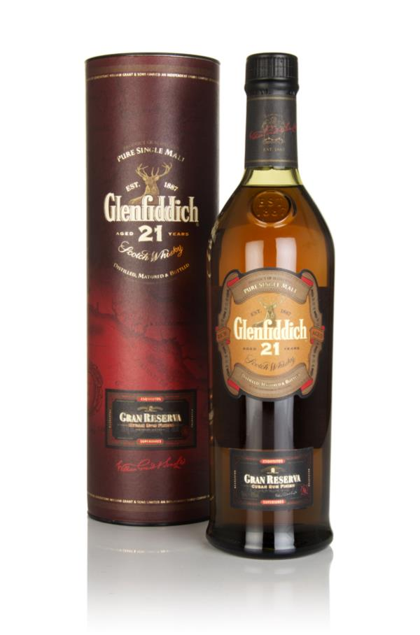 Glenfiddich 21 Year Old Gran Reserva Cuban Rum Finish Single Malt Whisky