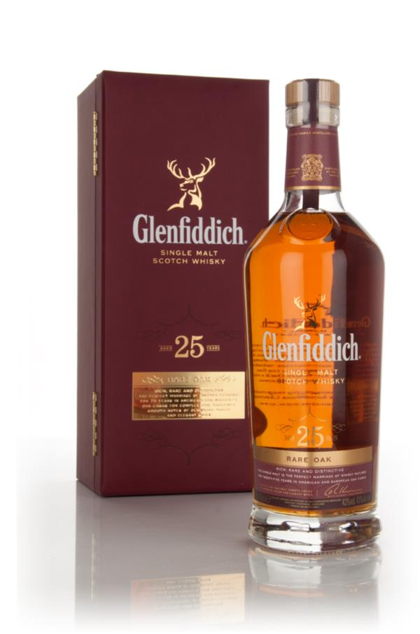 Glenfiddich 25 Year Old - Rare Oak Single Malt Whisky