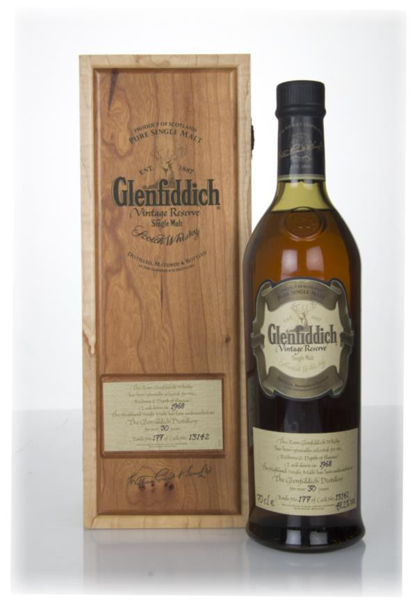 Glenfiddich 30 Year Old 1968 - Vintage Reserve Single Malt Whisky