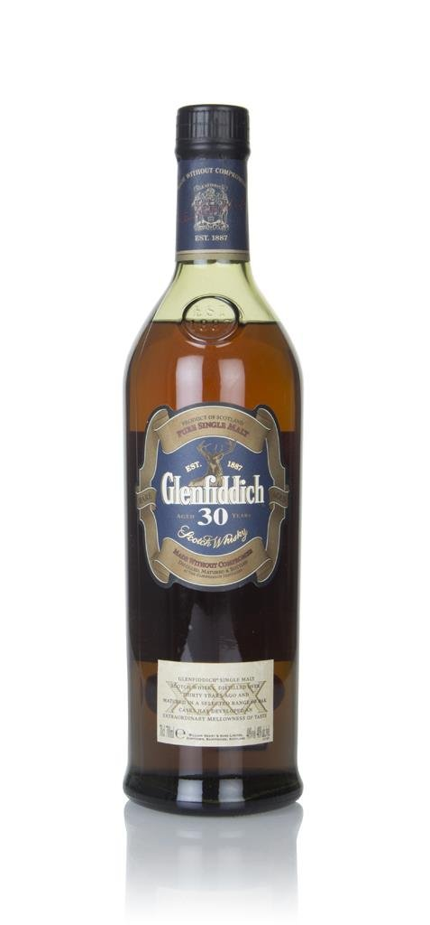 Glenfiddich 30 Year Old (Old Bottling) (without Presentation Tube) Single Malt Whisky