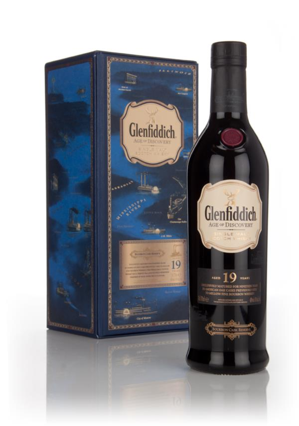 Glenfiddich 19 Year Old - Age of Discovery Bourbon cask Single Malt Whisky
