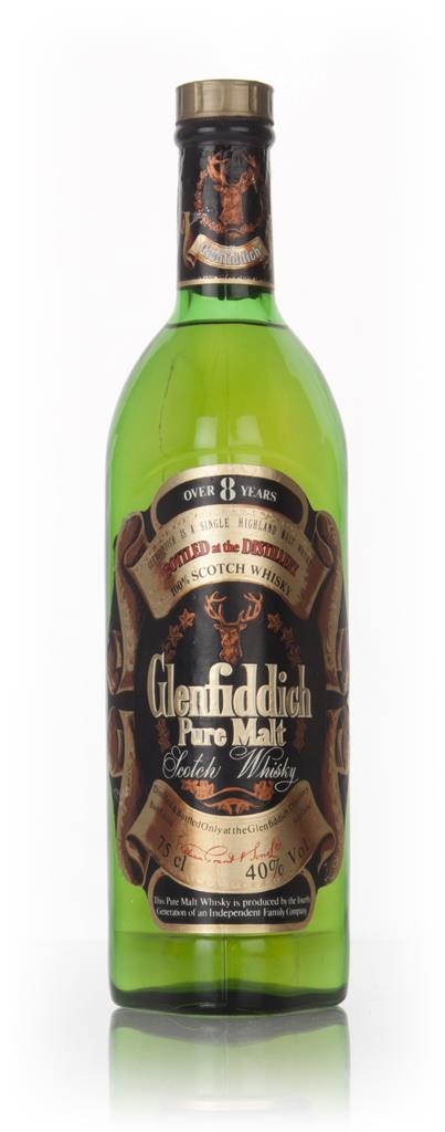 Glenfiddich Pure Malt 8 Year Old - 1970s 3cl Sample Single Malt Whisky