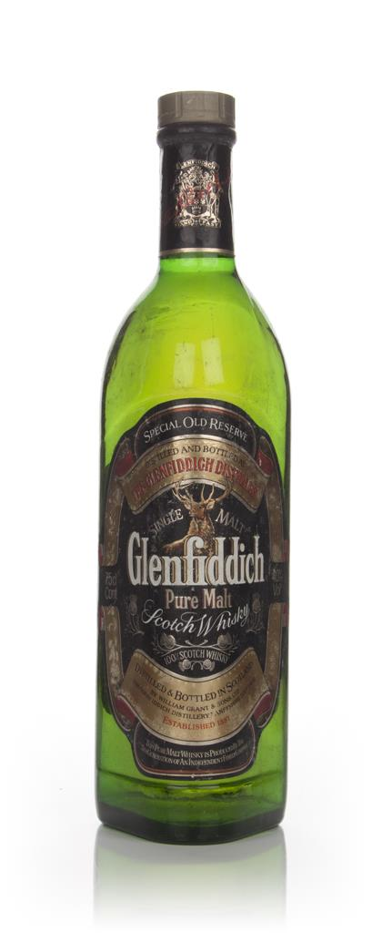 Glenfiddich Special Old Reserve - 1980s 3cl Sample Single Malt Whisky