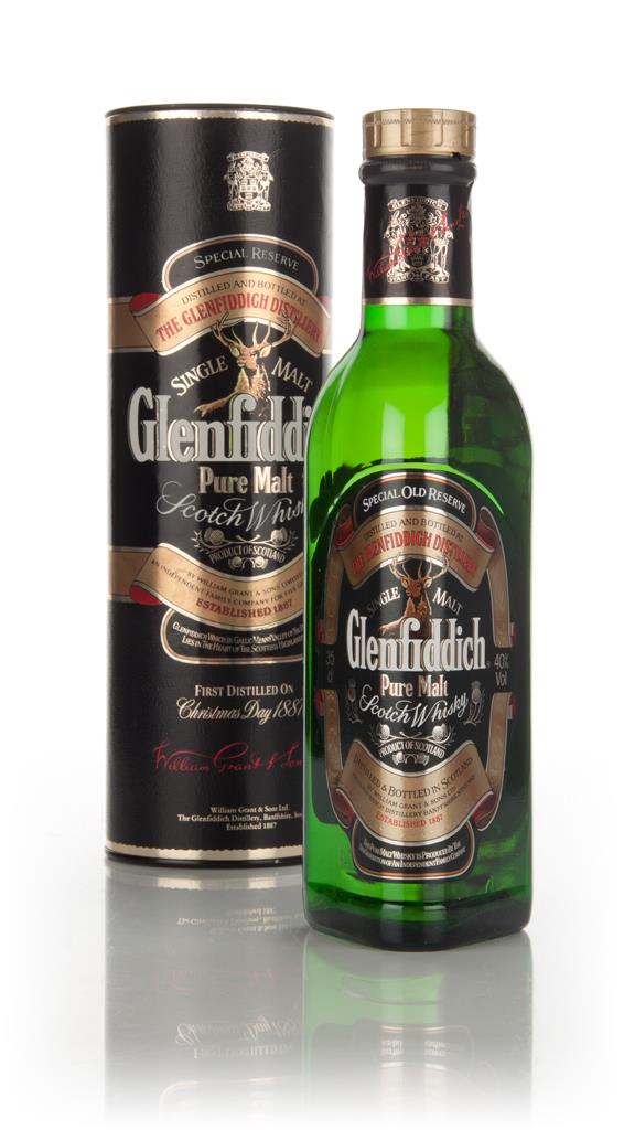 Glenfiddich Special Old Reserve (35cl) - 1980s Single Malt Whisky
