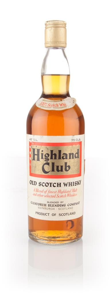 Highland Club - 1970s Blended Whisky