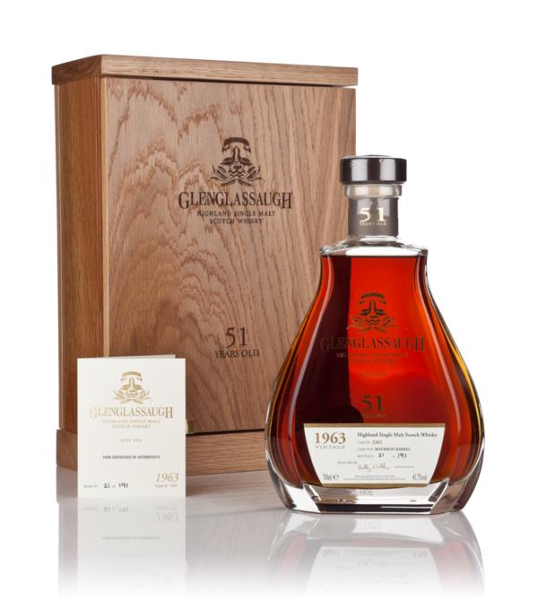 Glenglassaugh 51 Year Old 1963 (cask 3301) Single Malt Whisky