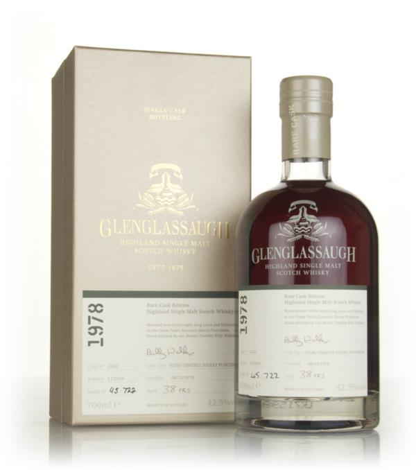 Glenglassaugh 38 Year Old 1978 (cask 2343) - Rare Cask Release Batch 3 Single Malt Whisky