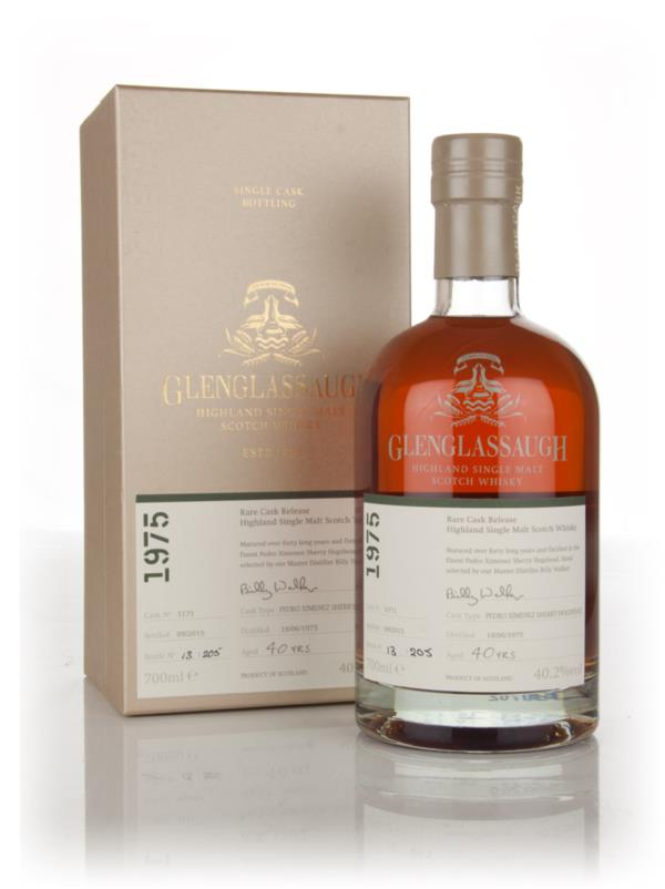Glenglassaugh 40 Year Old 1975 (cask 3171) - Rare Cask Release Batch 2 Single Malt Whisky