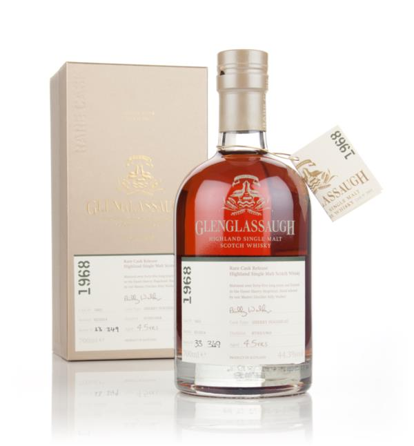 Glenglassaugh 45 Year Old 1968 (cask 1601) - Rare Cask Release Batch 1 Single Malt Whisky 3cl Sample