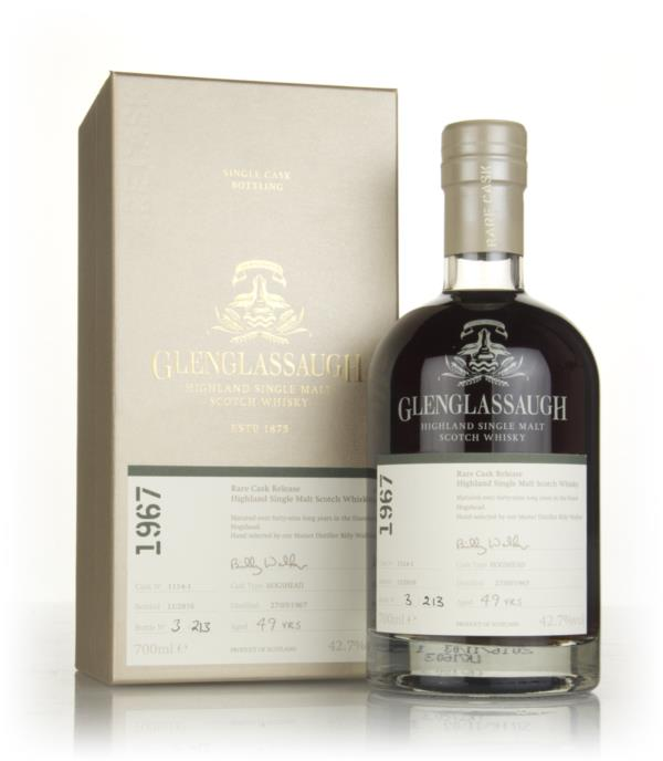 Glenglassaugh 49 Year Old 1967 (cask 1114-1) - Rare Cask Release Batch Single Malt Whisky