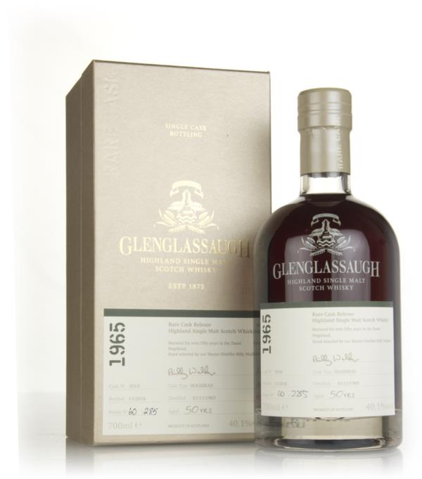 Glenglassaugh 50 Year Old 1965 (cask 3510) - Rare Cask Release Batch 3 Single Malt Whisky