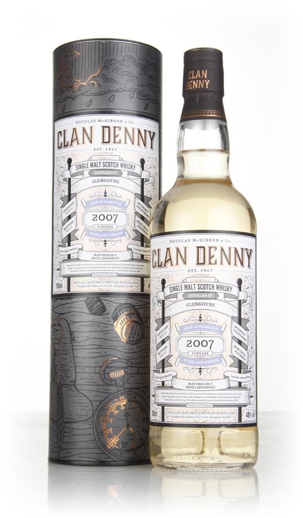 Glengoyne 10 Year Old 2007 (cask 11893) - Clan Denny (Douglas Laing) Single Malt Whisky