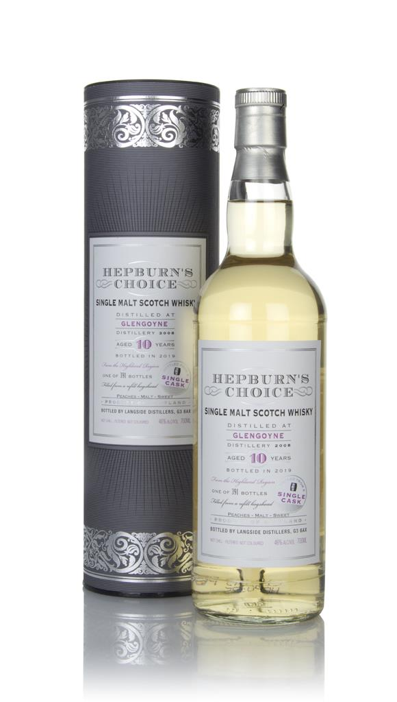 Glengoyne 10 Year Old 2008 - Hepburns Choice (Langside) Single Malt Whisky