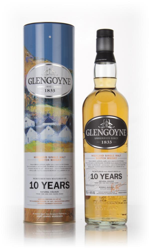 Glengoyne 10 Year Old - 'Autumn Moon Over Glengoyne' Tin Single Malt Whisky
