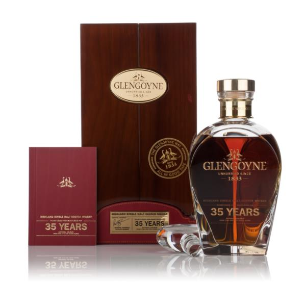 Glengoyne 35 Year Old In Decanter 3cl Sample Single Malt Whisky